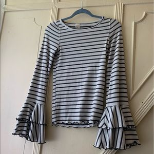 Free People Striped Top. Super soft
